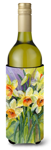 Buy this Daffodils by Maureen Bonfield Wine Bottle Beverage Insulator Hugger BMBO0880LITERK