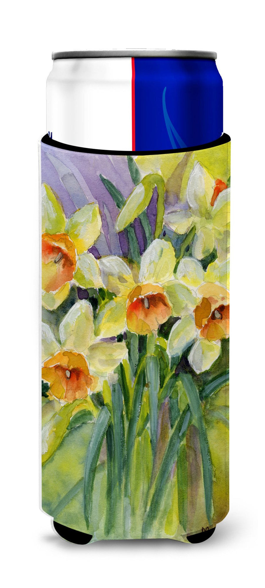 Buy this Daffodils by Maureen Bonfield Ultra Beverage Insulators for slim cans BMBO0880MUK