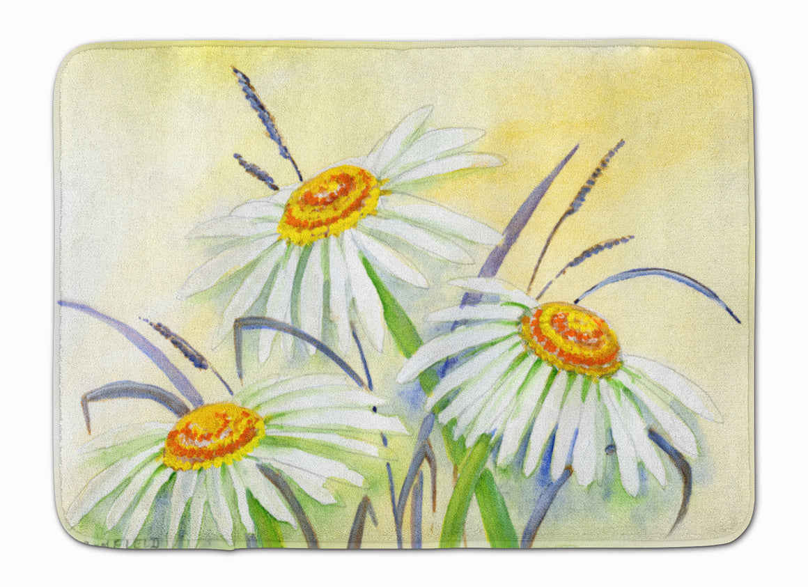 Buy this Daisies by Maureen Bonfield Machine Washable Memory Foam Mat BMBO1108RUG