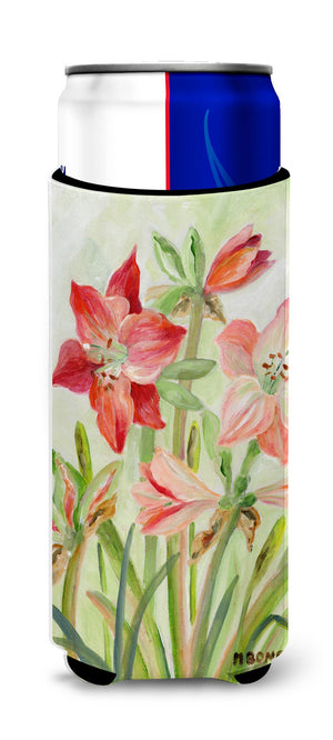 Buy this Lillies II by Maureen Bonfield Ultra Beverage Insulators for slim cans BMBO1373MUK