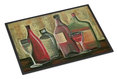 Buy this Wine by Tiffany Budd Indoor or Outdoor Mat 18x27 BTBU0168MAT