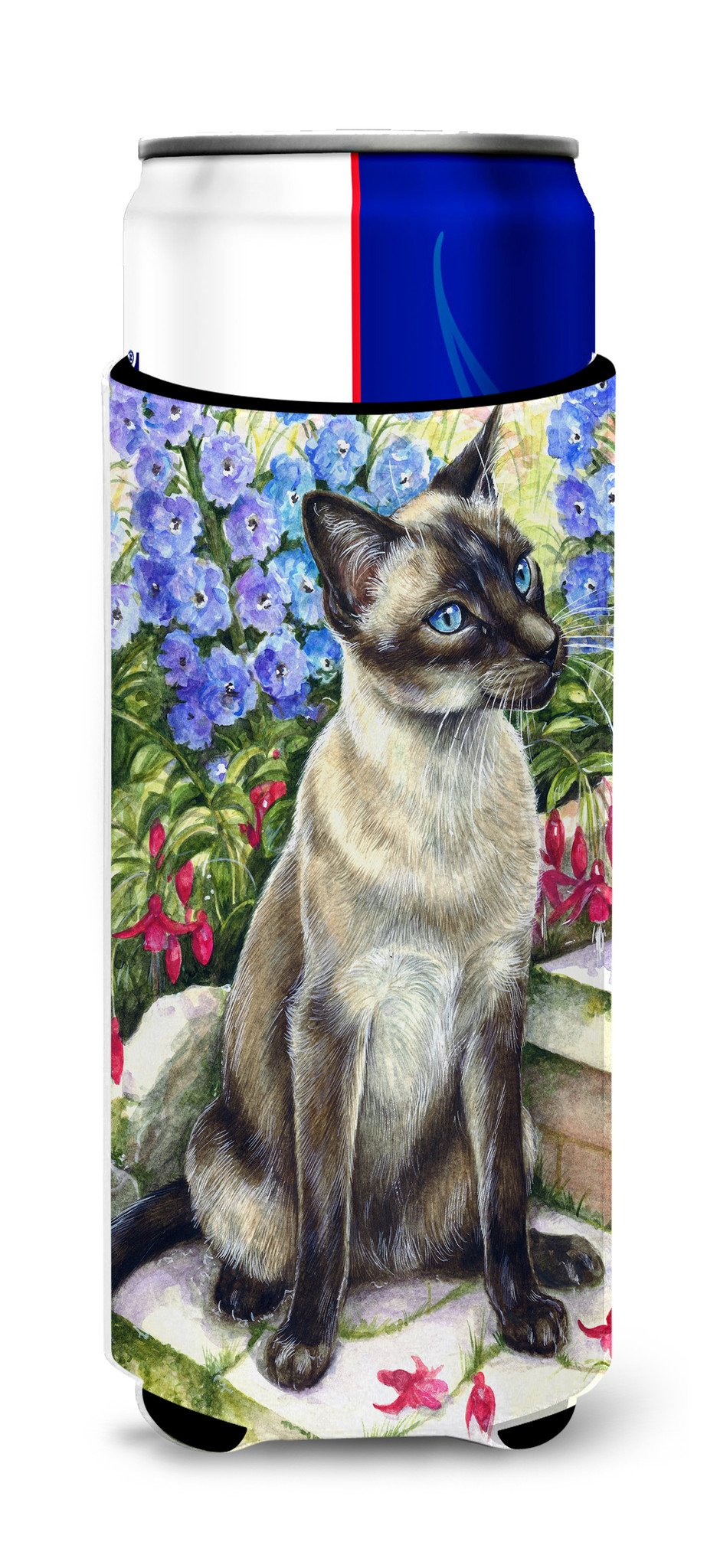 Buy this Siamese cat in the Garden Ultra Beverage Insulators for slim cans CDCO0026MUK