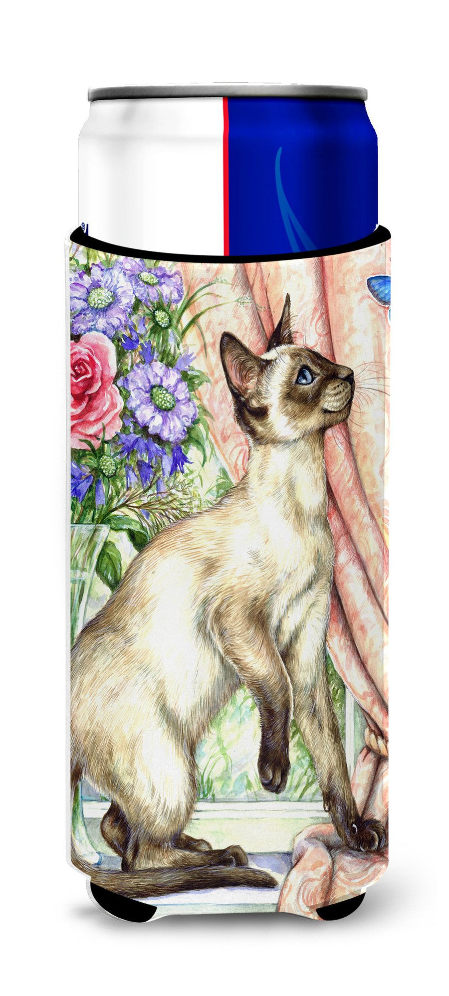 Buy this Siamese cat with Butterfly Ultra Beverage Insulators for slim cans CDCO0036MUK