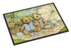 Summertime Teddy Bears Picnic Indoor or Outdoor Mat 24x36 CDCO0308JMAT - the-store.com