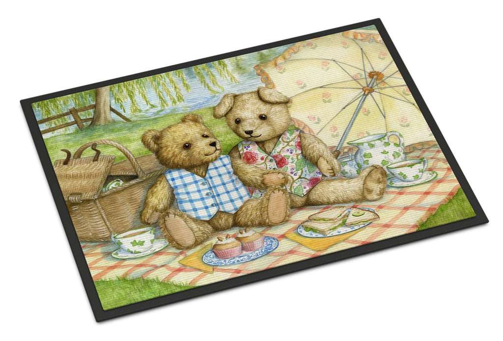 Buy this Summertime Teddy Bears Picnic Indoor or Outdoor Mat 24x36 CDCO0308JMAT