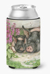 Pigs Under The Fence by Debbie Cook Can or Bottle Hugger CDCO0355CC by Caroline's Treasures