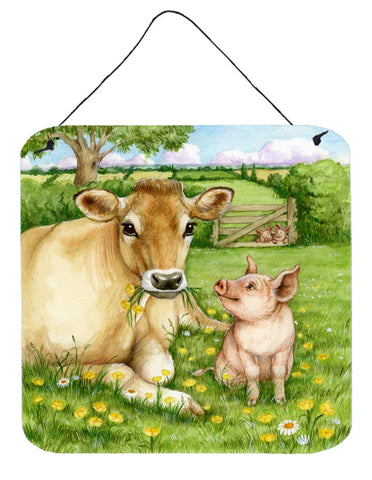 Buy this Pigs and Cow Good Friends Wall or Door Hanging Prints CDCO0360DS66