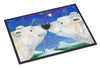 Polar Bears Polar Kiss by Debbie Cook Indoor or Outdoor Mat 24x36 CDCO0487JMAT - the-store.com