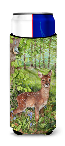 Buy this European Roe Deer Fawn Ultra Beverage Insulators for slim cans CDCO0504MUK