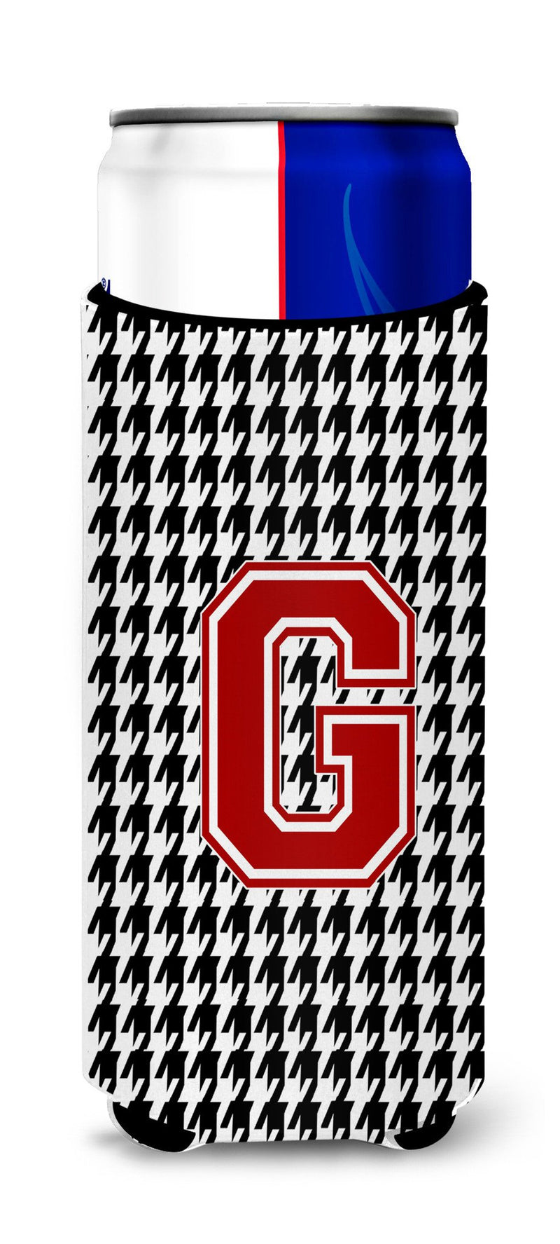 Buy this Monogram - Houndstooth  Letter G Ultra Beverage Insulators for slim cans CJ1021-GMUK