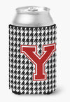 Buy this Monogram - Houndstooth Can or Bottle Beverage Insulator Hugger Initial Y