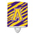 Buy this Letter A Monogram - Tiger Stripe - Purple Gold Ceramic Night Light CJ1022-ACNL