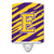 Buy this Letter E Monogram - Tiger Stripe - Purple Gold Ceramic Night Light CJ1022-ECNL