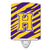 Buy this Letter H Monogram - Tiger Stripe - Purple Gold Ceramic Night Light CJ1022-HCNL
