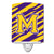 Buy this Letter M Monogram - Tiger Stripe - Purple Gold Ceramic Night Light CJ1022-MCNL