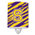 Buy this Letter S Monogram - Tiger Stripe - Purple Gold Ceramic Night Light CJ1022-SCNL