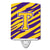 Buy this Letter T Monogram - Tiger Stripe - Purple Gold Ceramic Night Light CJ1022-TCNL