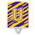 Buy this Letter U Monogram - Tiger Stripe - Purple Gold Ceramic Night Light CJ1022-UCNL