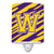 Buy this Letter W Monogram - Tiger Stripe - Purple Gold Ceramic Night Light CJ1022-WCNL