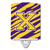 Buy this Letter X Monogram - Tiger Stripe - Purple Gold Ceramic Night Light CJ1022-XCNL