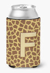Buy this Letter F Initial Monogram - Giraffe Can or Bottle Beverage Insulator Hugger