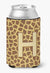 Buy this Letter H Initial Monogram - Giraffe Can or Bottle Beverage Insulator Hugger