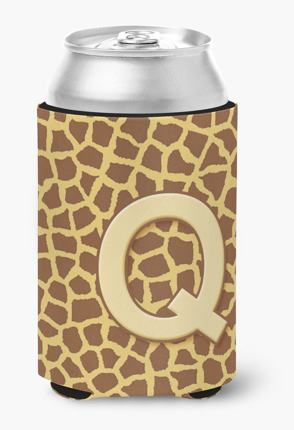 Buy this Letter Q Initial Monogram - Giraffe Can or Bottle Beverage Insulator Hugger