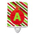 Buy this Christmas Oranment Holiday Initial Letter A  Ceramic Night Light CJ1039-ACNL