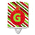 Buy this Christmas Oranment Holiday Initial Letter G Ceramic Night Light CJ1039-GCNL
