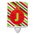 Buy this Christmas Oranment Holiday Initial Letter J Ceramic Night Light CJ1039-JCNL