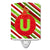 Buy this Christmas Oranment Holiday Initial Letter U Ceramic Night Light CJ1039-UCNL