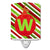 Buy this Christmas Oranment Holiday Initial Letter W Ceramic Night Light CJ1039-WCNL