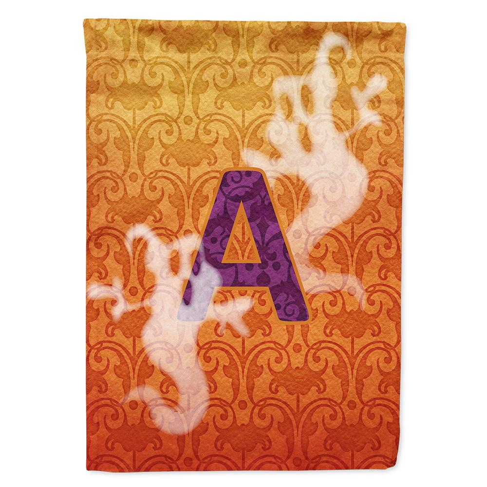 Buy this Halloween Ghost Letter A Monogram Initial Flag Garden Size CJ1040