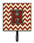 Letter H Chevron Maroon and Gold Leash or Key Holder CJ1061-HSH4 by Caroline's Treasures
