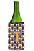 Buy this Letter T Football Purple and Gold Wine Bottle Beverage Insulator Hugger CJ1064-TLITERK