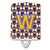 Buy this Letter W Football Purple and Gold Ceramic Night Light CJ1064-WCNL