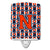 Buy this Letter N Football Orange, Blue and white Ceramic Night Light CJ1066-NCNL
