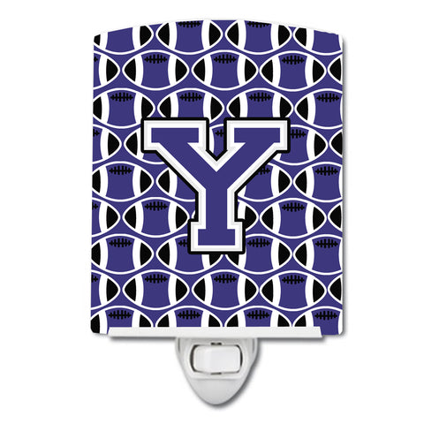 Seo manager 425 titleletter y buy this letter y football purple and white ceramic night light cj1068 ycnl sciox Image collections
