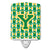 Buy this Letter Y Football Green and Gold Ceramic Night Light CJ1069-YCNL