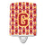 Buy this Letter G Football Cardinal and Gold Ceramic Night Light CJ1070-GCNL