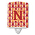 Buy this Letter N Football Cardinal and Gold Ceramic Night Light CJ1070-NCNL