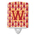 Buy this Letter W Football Cardinal and Gold Ceramic Night Light CJ1070-WCNL