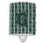 Buy this Letter G Football Green and White Ceramic Night Light CJ1071-GCNL