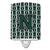 Buy this Letter N Football Green and White Ceramic Night Light CJ1071-NCNL