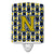 Buy this Letter N Football Blue and Gold Ceramic Night Light CJ1074-NCNL
