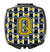 Letter Q Football Blue and Gold Compact Mirror CJ1074-QSCM by Caroline's Treasures