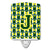 Buy this Letter J Football Green and Yellow Ceramic Night Light CJ1075-JCNL