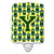 Buy this Letter Y Football Green and Yellow Ceramic Night Light CJ1075-YCNL