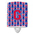 Buy this Letter G Football Harvard Crimson and Yale Blue Ceramic Night Light CJ1076-GCNL