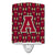 Buy this Letter A Football Garnet and Gold Ceramic Night Light CJ1078-ACNL